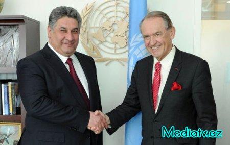 Azad Rəhimov Ban Ki Munu Bakıya dəvət etdi