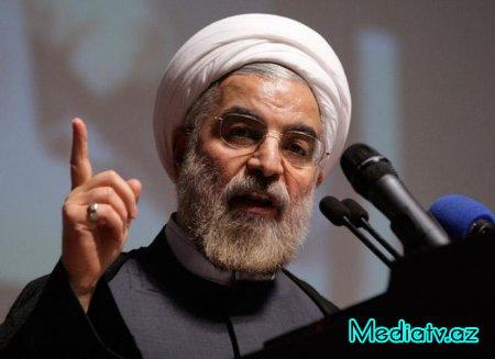 """Ruhani: """"Bəzi müsəlman ölkələri terrorçulara dəstək verir"""""""