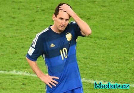 """Messi: """"Biz daha artığına layiq idik"""""""