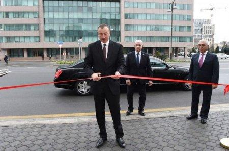 İlham Əliyev açılış etdi – FOTO
