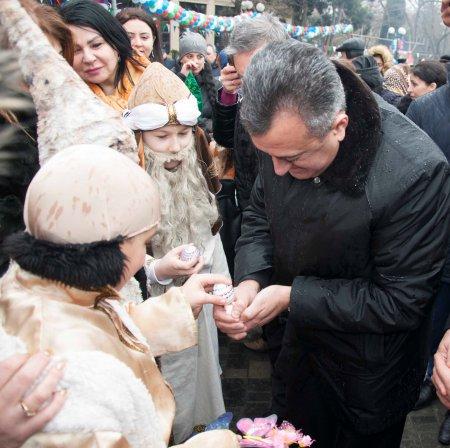 Novruz bayramı münasibəti ilə təntənəli bayram tədbiri keçirilib.