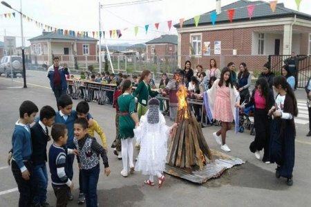 Cocuq Mərcanlıda Novruz bayramı qeyd olunub – FOTO