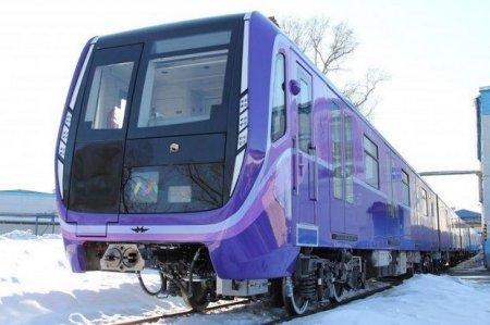 Bakı metrosuna müasir qatarlar gətirilib