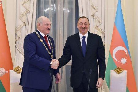 Belarus prezidenti İlham Əliyevi təbrik edib