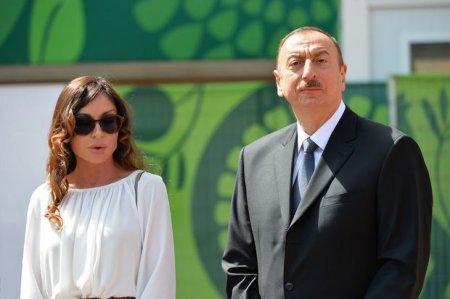 İlham Əliyev Hacı Cavad məscidinin yeni binasının açılışında