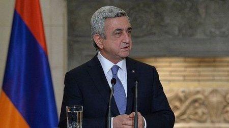Serj Sarkisyan: Təhlükəsizlik bir nömrəli problem olaraq qalır