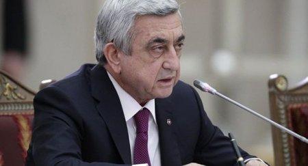Sarkisyan: Azərbaycan asanlıqla Qarabağdan imtina etməyəcək