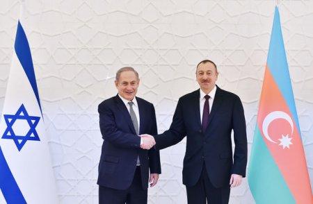 Netanyahu İlham Əliyevə məktub göndərib