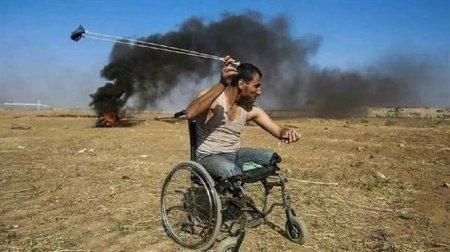 """Fələstində etiraz aksiyalarının """"simvolu"""" öldürüldü - FOTO"""