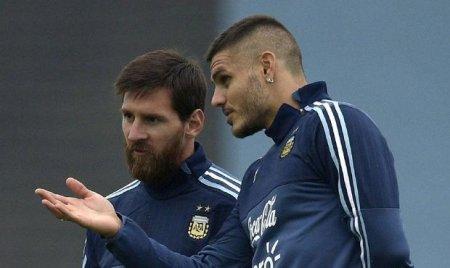 İkardini Argentina millisindən Messi çıxartdırıb