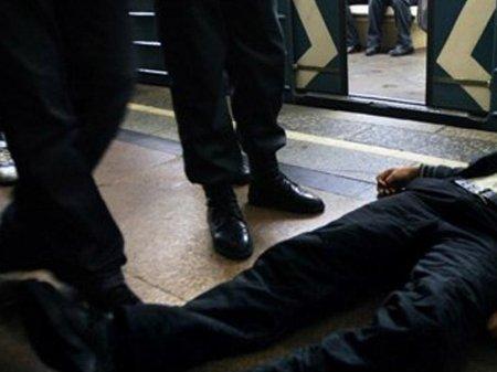 Bakı metrosunda ölüm...