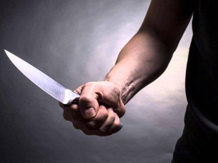 48 yaşlı kişi bıçaqlandı