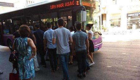"""""""Xaliq Faiqoğlu""""nun avtobusları gecəyədək pulsuz işləyəcək"""