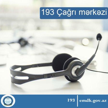 Daşınmaz əmlakla bağlı bütün müraciətlərin operativ ünvanı : 193 Çağrı Mərkəzi