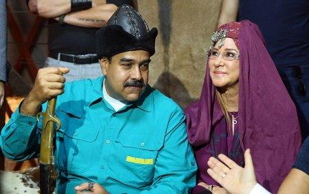 "Maduro ""Diriliş Ertuğrul""un çəkiliş meydançasında"