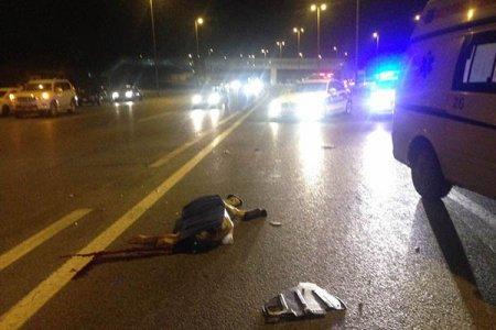Salyanda ağır qəza, 10 nəfər yaralandı