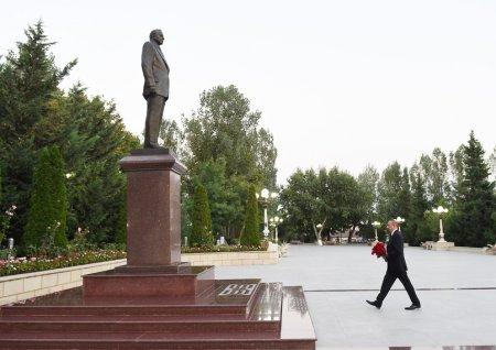 Prezident Ismayıllı rayonuna səfər edib