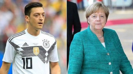 Merkel Özilin yığmadan getməsindən danışdı