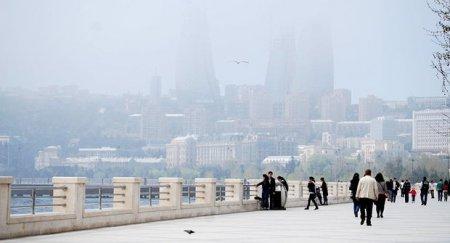 Nazirlik Bakıdakı toz-dumanla bağlı məlumat yaydı