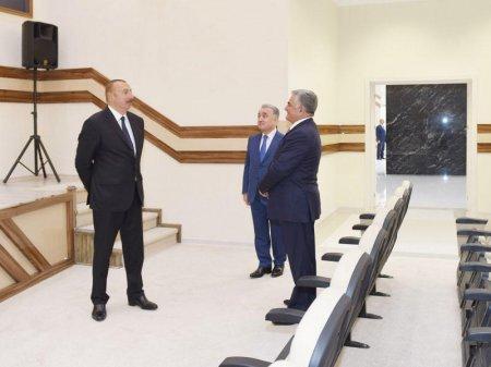 Prezident İlham Əliyevin Masallı və Biləsuvara səfəri