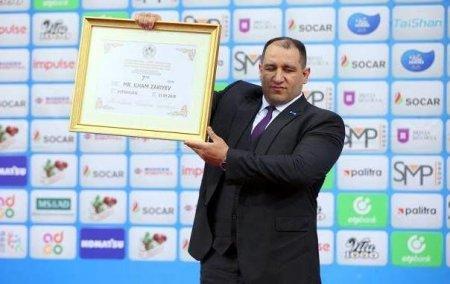 İlham Zəkiyev yeddinci Dan Qara Kəmər sahibi oldu – FOTO