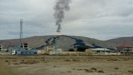 Azərbaycanda vulkan püskürdü