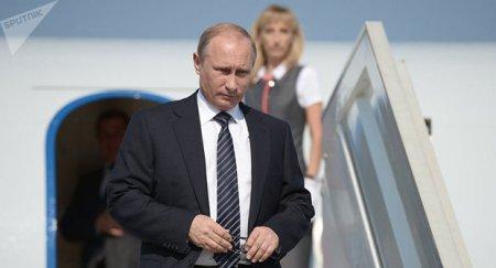 Vladimir Putin Azərbaycandadır