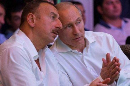 İlham Əliyev və Putin cüdo yarışlarını izləyir