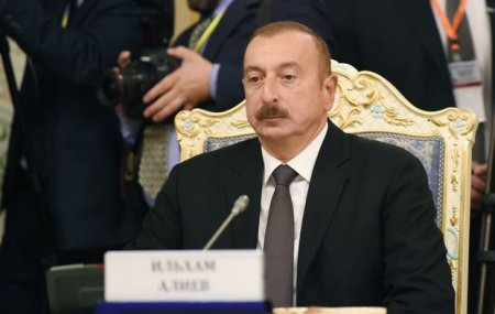 İlham Əliyev MDB Dövlət Başçıları Şurasında - FOTO