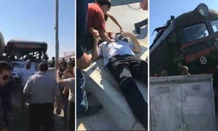 Bakıda dəhşətli qəzada yaralananların adları bəlli oldu - SİYAHI
