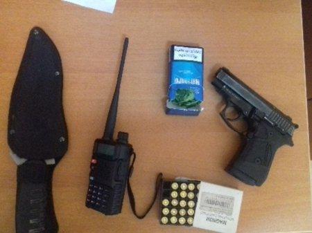 Rusiya vətəndaşı Azərbaycana narkotik və silah-sursat keçirmək istədi