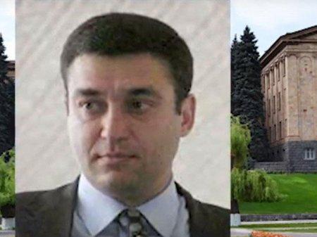 Ermənistanda keçmiş deputat həbs edildi