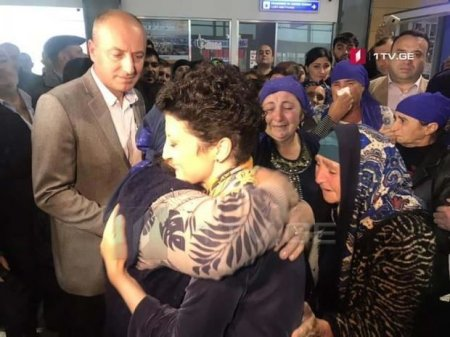 Məhkum azərbaycanlı qadının övladları İraqdan Gürcüstana gətirildi